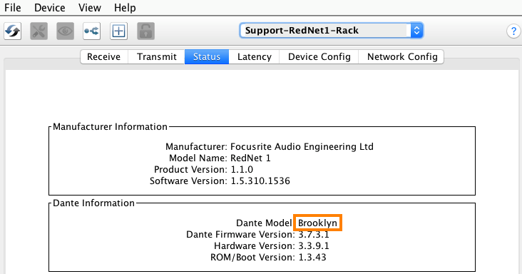 RedNet and Red 4Pre/8Pre/16Line Latest Firmware Versions